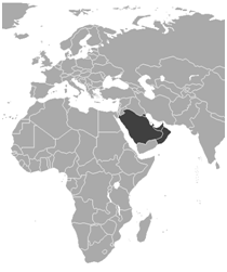 Map of GCC Patent member states